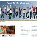 Giving for the Global Good