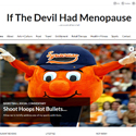 If The Devil Had Menopause ~ We would all be in Hell